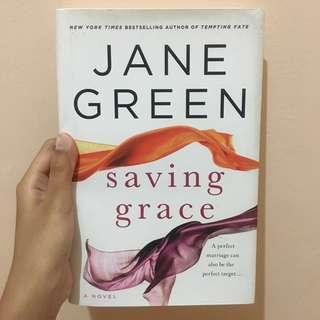 "Novel English Jane Green ""Saving Grace"""