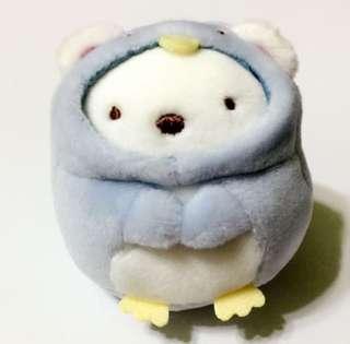 Japan Tokyo Sumikko Gurashi 角落生物 白熊 扮企鵝 系列 細公仔 手玉size