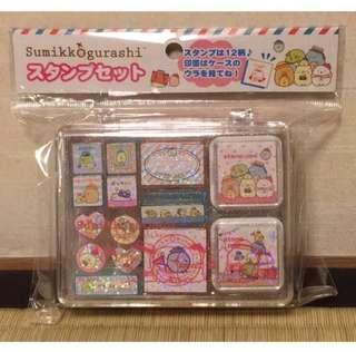 Japan Tokyo Sumikko Gurashi 角落生物 盒裝 印仔 旅行篇