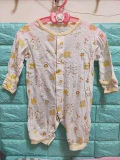 嬰兒0-6M男寶女寶寶短袖春夏 連身衣蝴蝶衣兔裝