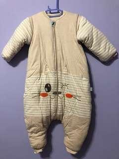寶寶睡袋(袖可拆