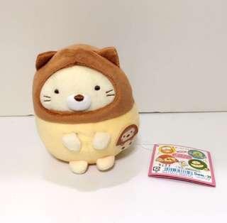 Japan Tokyo Sumikko Gurashi 角落生物 糖果系列 貓 中size 公仔