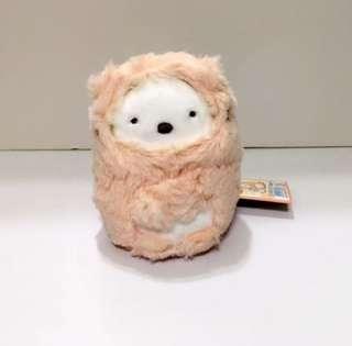Japan Tokyo Sumikko Gurashi 角落生物 白熊 扮貓 系列 中size公仔