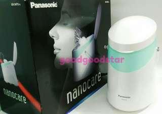 專櫃品牌Panasonic國際牌 奈米離子美顏器/蒸臉器 溫.冷蒸氣噴霧 卸妝.毛孔深層清潔保養