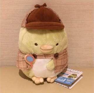 Japan Tokyo Sumikko Gurashi 角落生物 企鵝 福爾摩斯 造型 中size 公仔