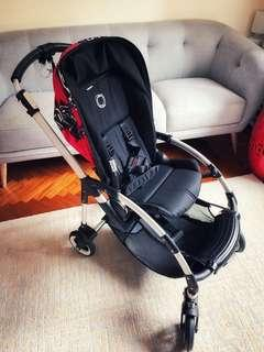 Bugaboo Bee Complete Stroller (Warhol design cover)