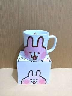 日本 mister dount kanahei 卡娜赫拉 粉紅兔兔 p助 杯