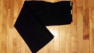 reitmans wide leg black dress pants size13