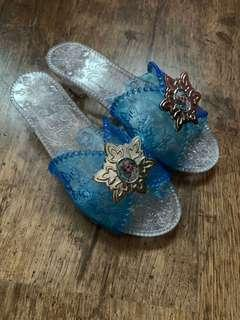 Jakks Disney Elsa slip on play pretend sandals