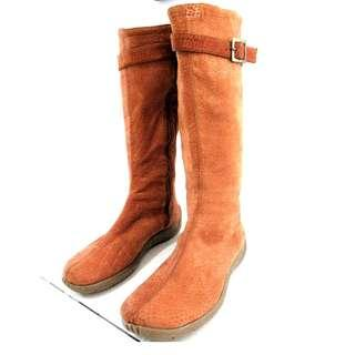 100% Leather Boots Size 38