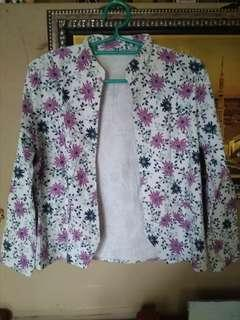 Flower Jacket/ Outer bunga