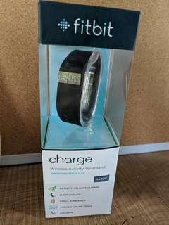 Black Fitbit - Large (Brand New)