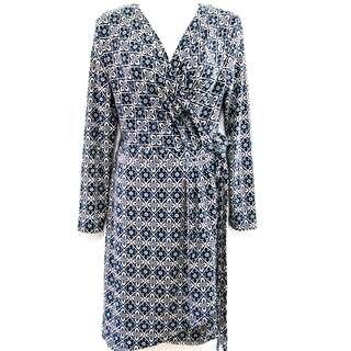🆕 Wrap Dress Size 12 - Blue