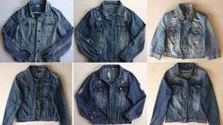Buy 1 Take 1 + free sf preloved Denim jackets