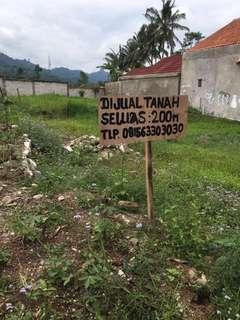 Dijual Tanah kavling seluas 200m2 didaerah Baros