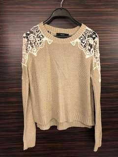 $350➡️$38 Forever 21 Lace Knit Top