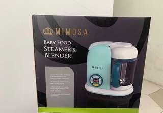 Mimosa steamer and blender