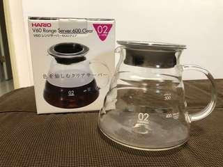 🚚 Hario V60 Range Sever 600 Clear 咖啡壺 型號:XGS-60