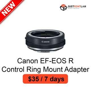 [RENT] Canon EF-EOS R Control Ring Mount Adapter