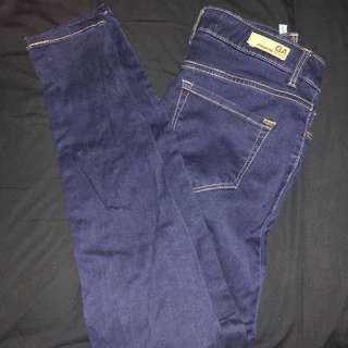 Garage high waisted denim jeans