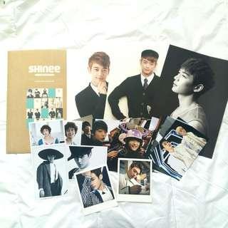 Bundle Minho SHINee Official Merchandise