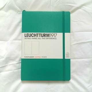 Used Leuchtturm1917 bullet journal notebook
