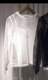 Initial 18 white top
