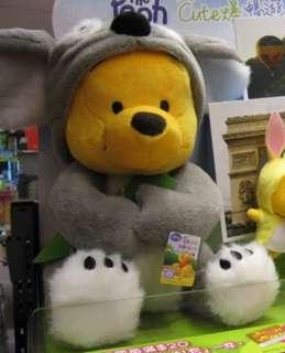 全新 ok circle k Winnie the Pooh 小熊維尼 扮樹熊 限量版 陪你cute爆暢遊