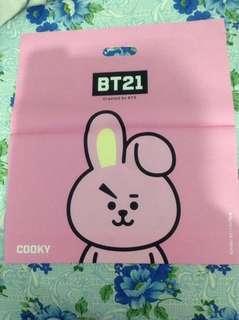 BT21 Koya and Cooky Plastic Bag