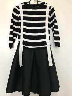 Dress-90% new, washed 1 time aft removing price tag