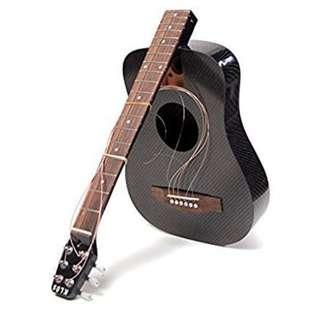 Klos carbon fibre foldable Guitar 可拆式結他/方便旅行