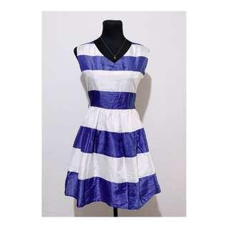 Blue and White Dress for 100 only!
