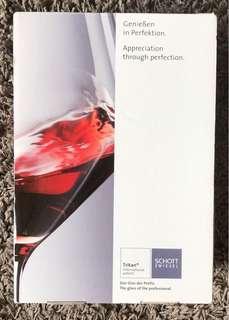 Schott Zwiesel Wine Glasses x2