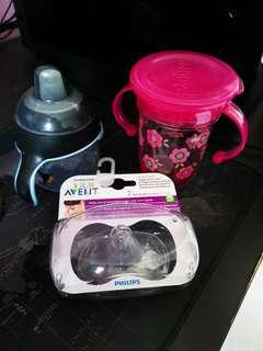 Baby water bottles set