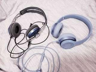 Beats Solo 2 and Sennheiser Momentum Headphones
