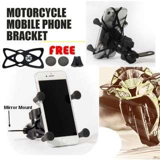 🚚 Motorcycle Phone Holder / Handphone holder / x-Grips phone bracket