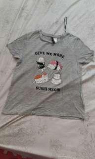 Gray H&M shirt