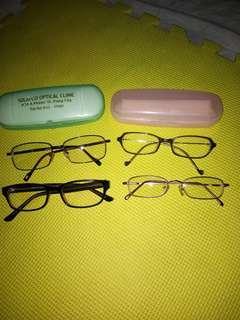Prescription glasses take all!