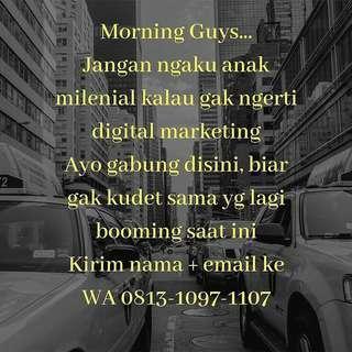 Cari duit dgn digital marketing