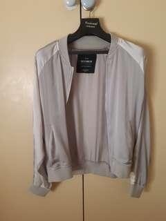 Grey thin jacket
