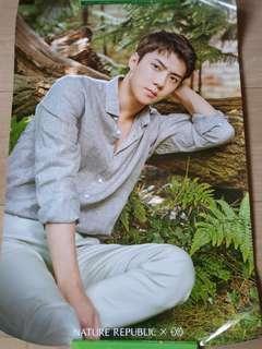 🚚 Nature Republic EXO Poster - Sehun