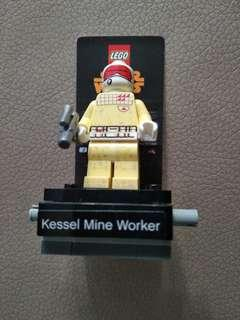 Star wars kessel mine worker mini figure