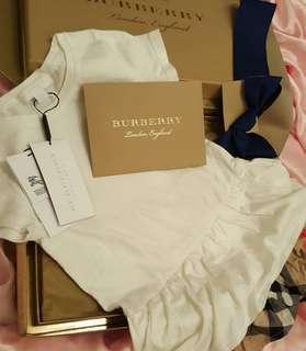 Burberry kids dress shirt