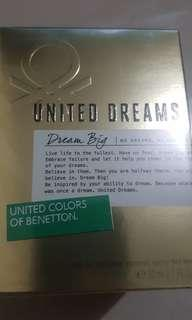 United Colors of Benetton United Dreams Perfume 100% Original for Her 80ml