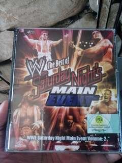 VCD WWE WWF Saturday Night