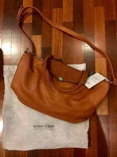 NEW Basta Bag by Sometime Alia B, color: caramel. tags intact, dustbag included. RM200
