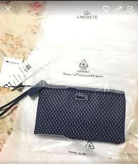 ORIGINAL LACOSTE wallet / wrislet / bag / clutch