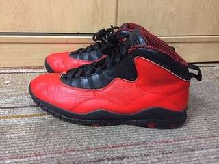 Jordan 10 'Chicago' Custom uk11/us12