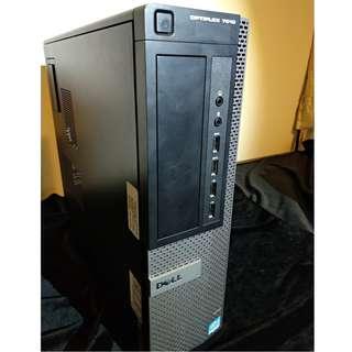 DELL OptiPlex 7010DT i5三代3550 w7旗艦版