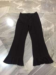 Bell bottom stretchy pants